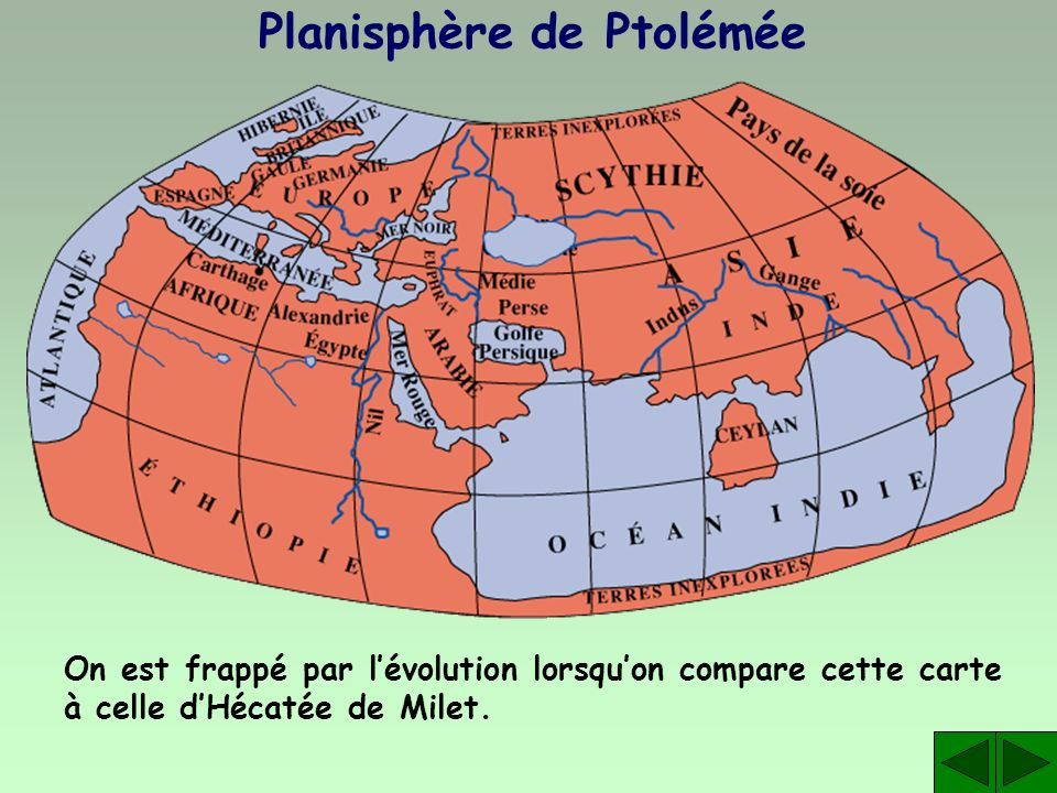 Planisphère de Ptolémée