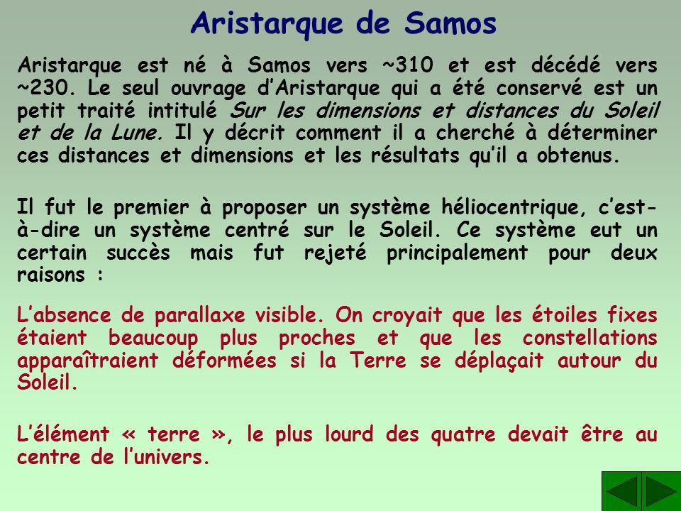 Aristarque de Samos