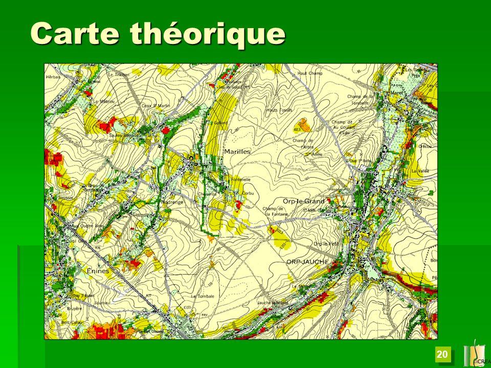 Carte théorique