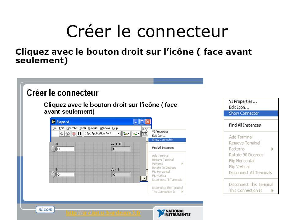 Créer le connecteur http://src.iut.u-bordeaux3.fr