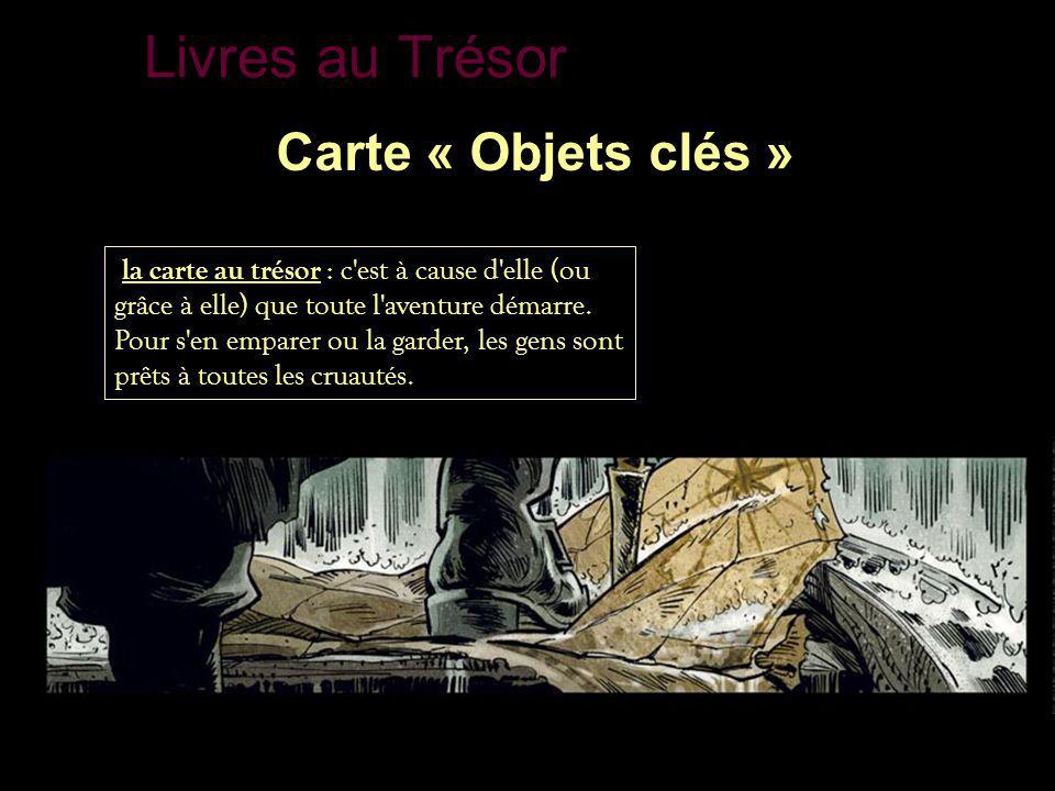 Livres au Trésor Carte « Objets clés »