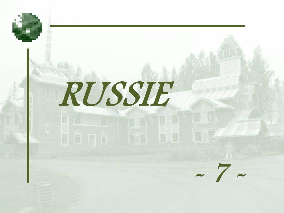 RUSSIE - 7 -