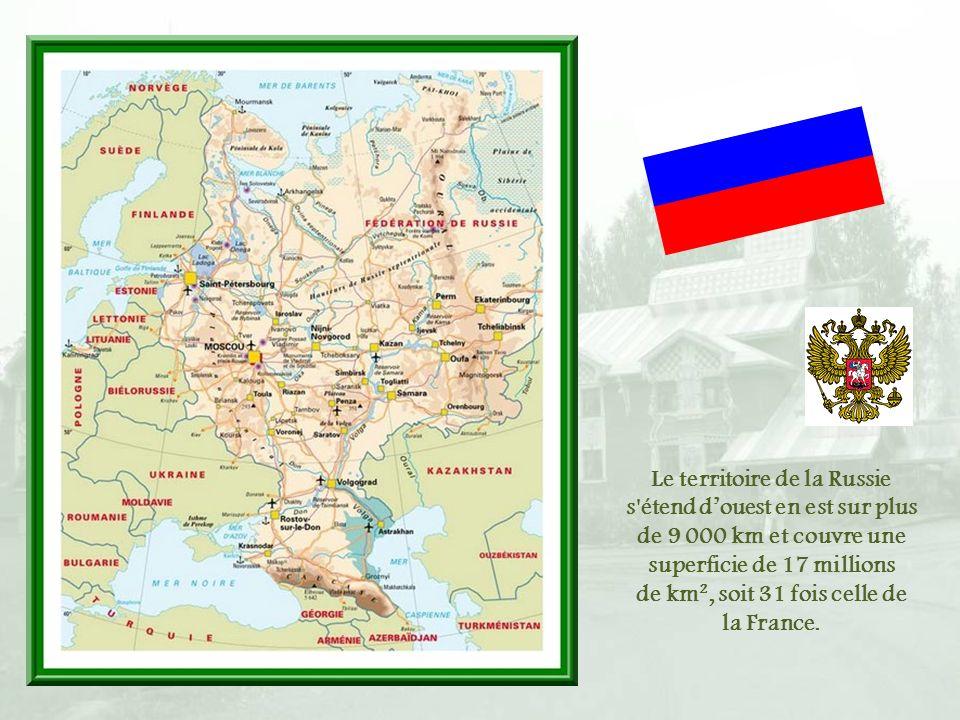 de km², soit 31 fois celle de la France.
