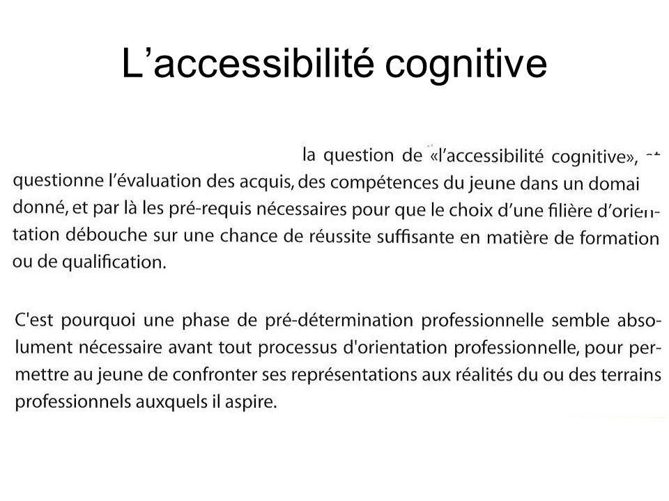 L'accessibilité cognitive