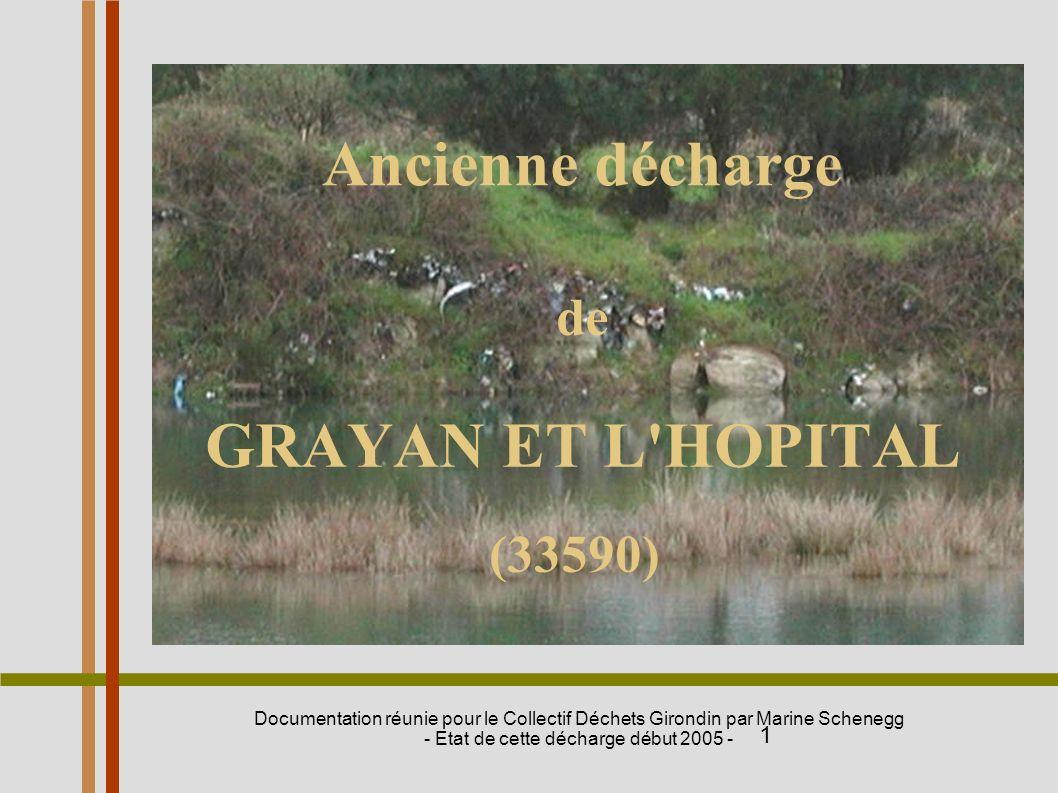 de GRAYAN ET L HOPITAL (33590)