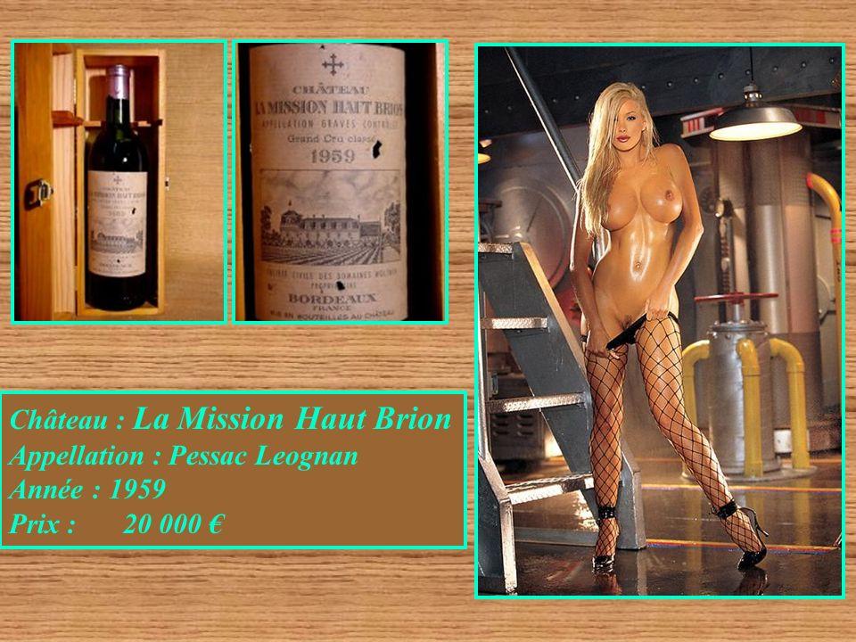 Château : La Mission Haut Brion