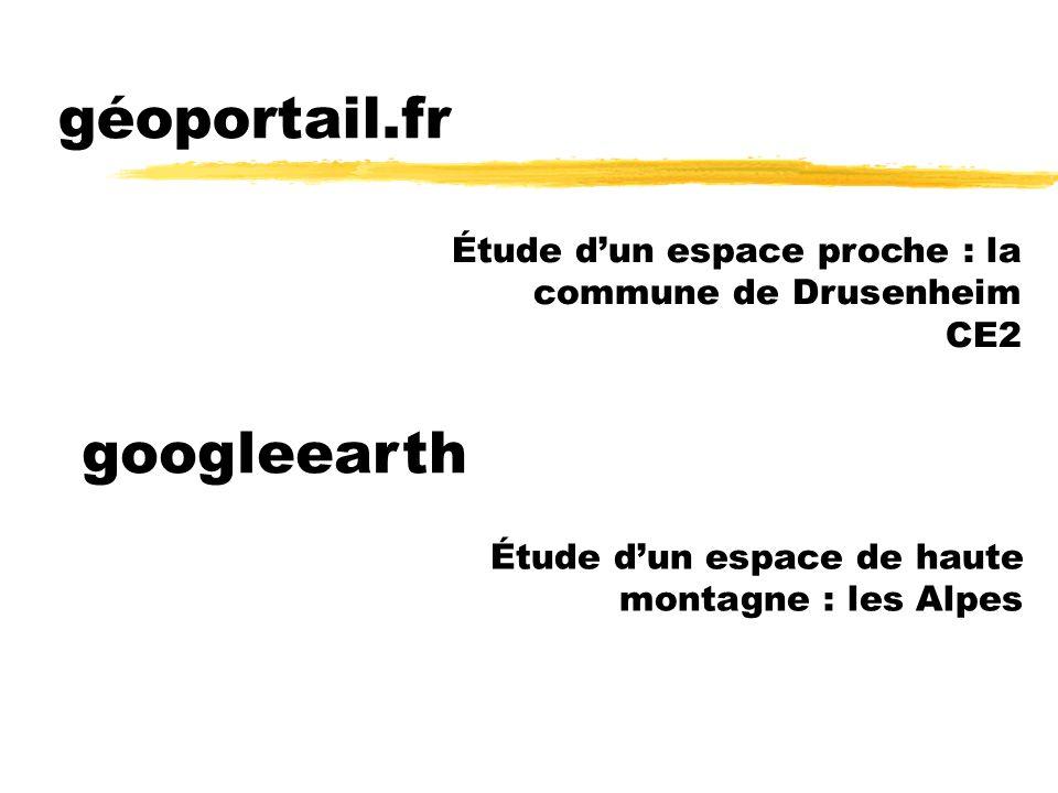 géoportail.fr googleearth