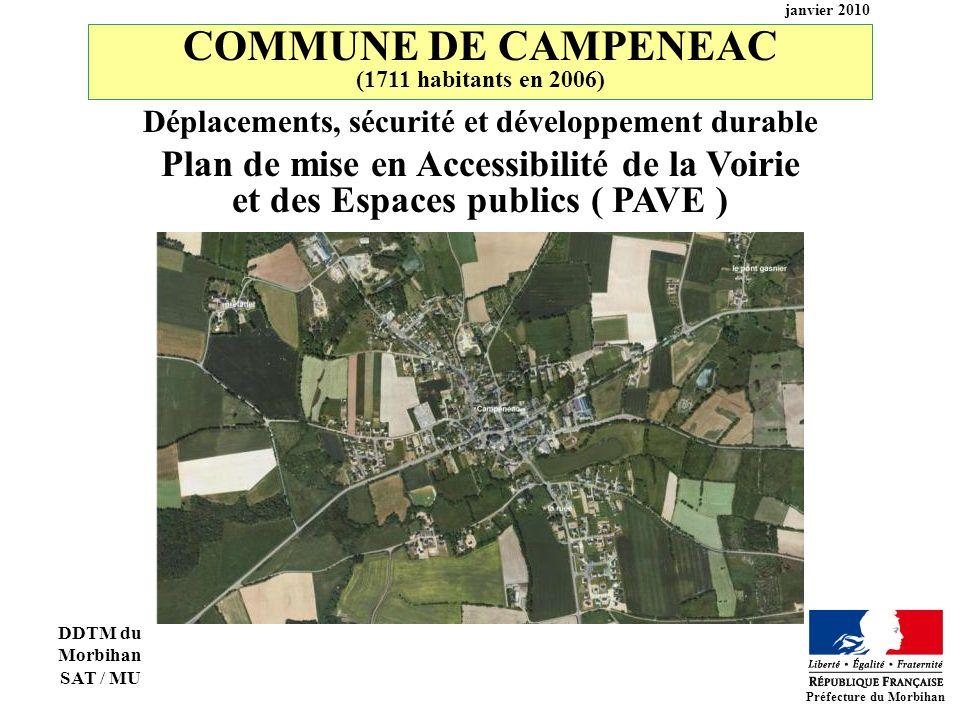 COMMUNE DE CAMPENEAC Plan de mise en Accessibilité de la Voirie