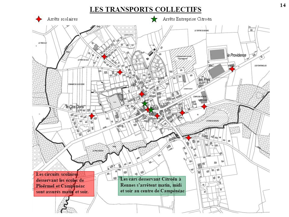 LES TRANSPORTS COLLECTIFS