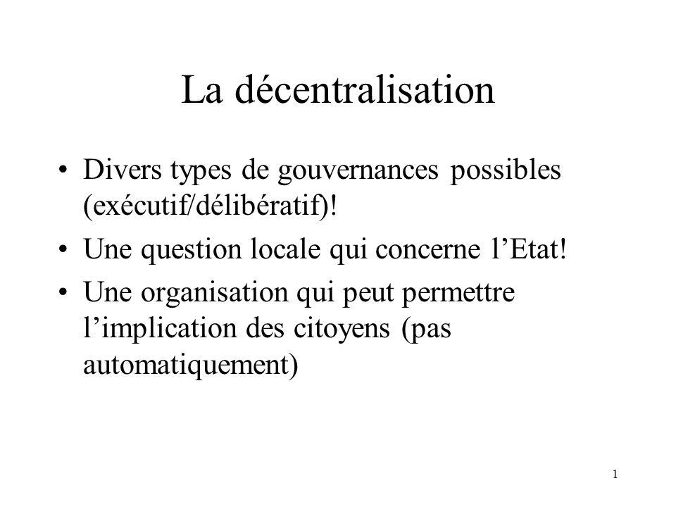 Histoire de la décentralisation en France