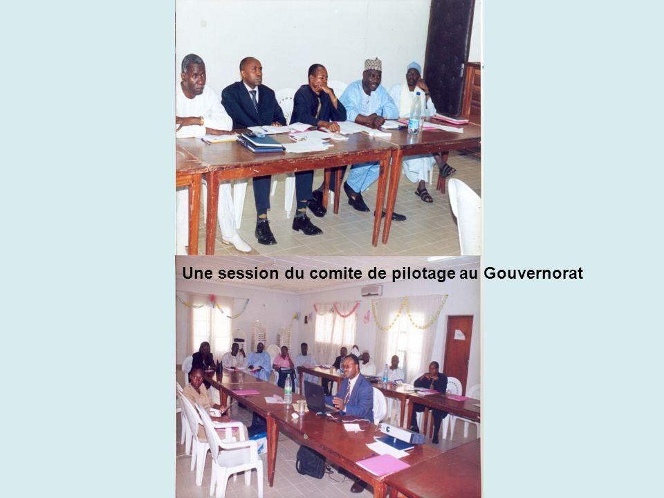 Une session du comite de pilotage au Gouvernorat