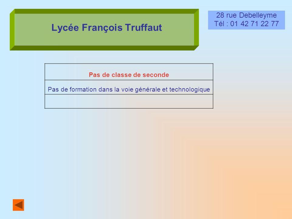 Lycée François Truffaut