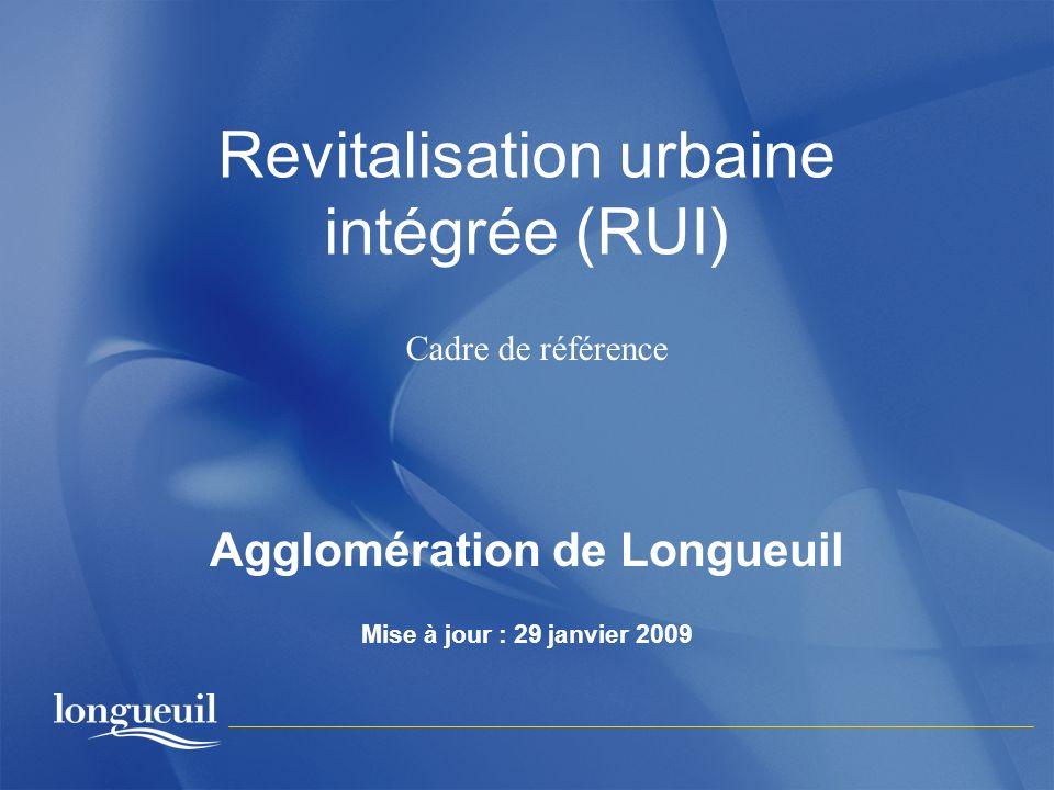Revitalisation urbaine intégrée (RUI)