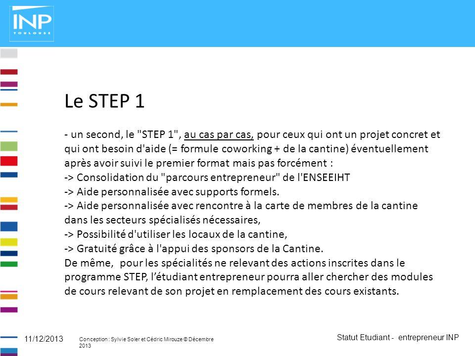 Le STEP 1