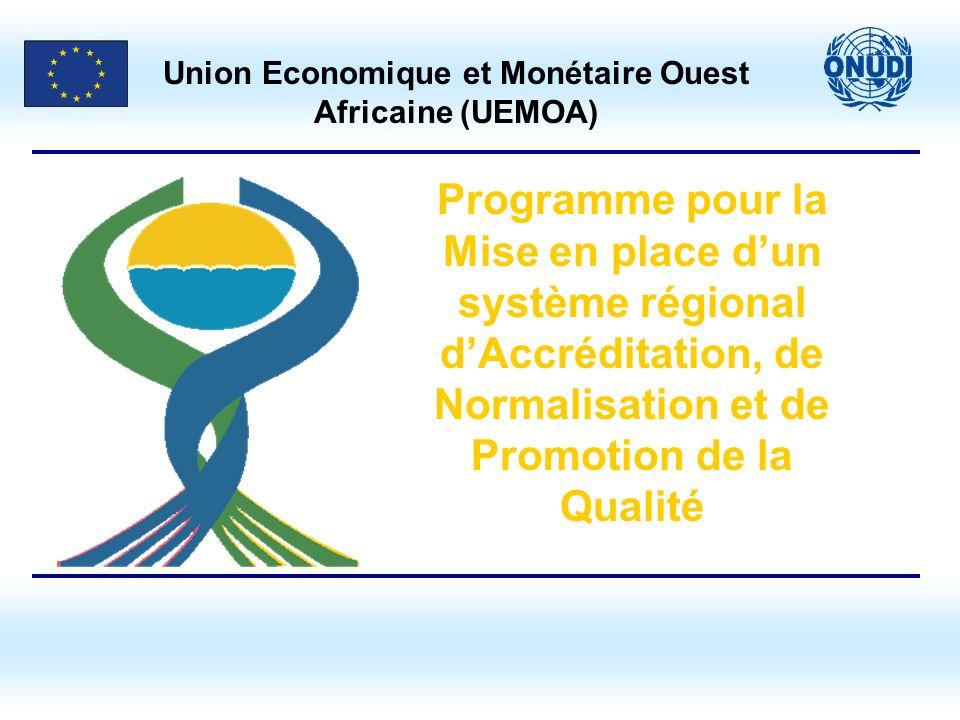 Union Economique et Monétaire Ouest Africaine (UEMOA)