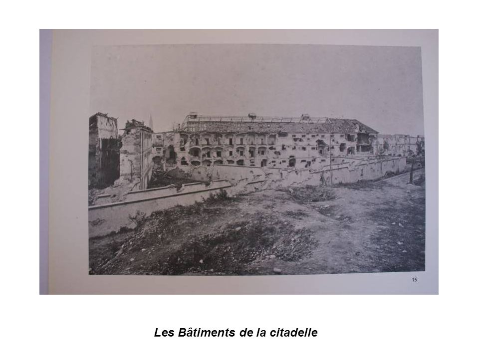 Les Bâtiments de la citadelle