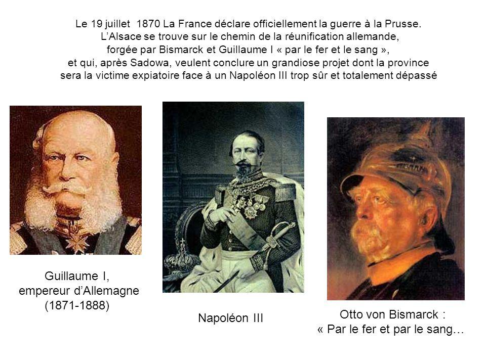 « Par le fer et par le sang… Napoléon III