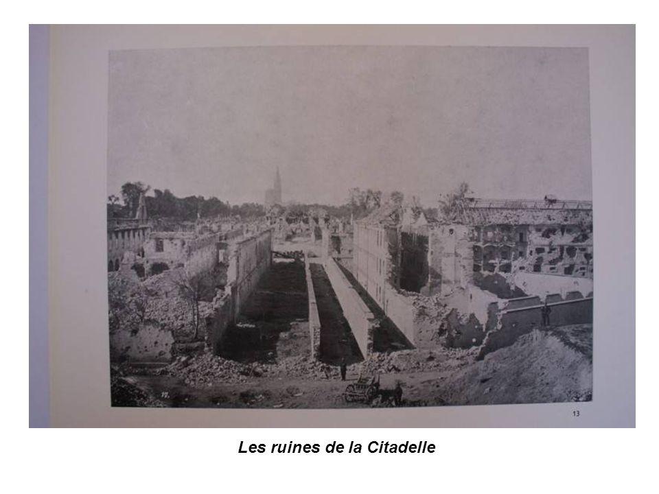 Les ruines de la Citadelle