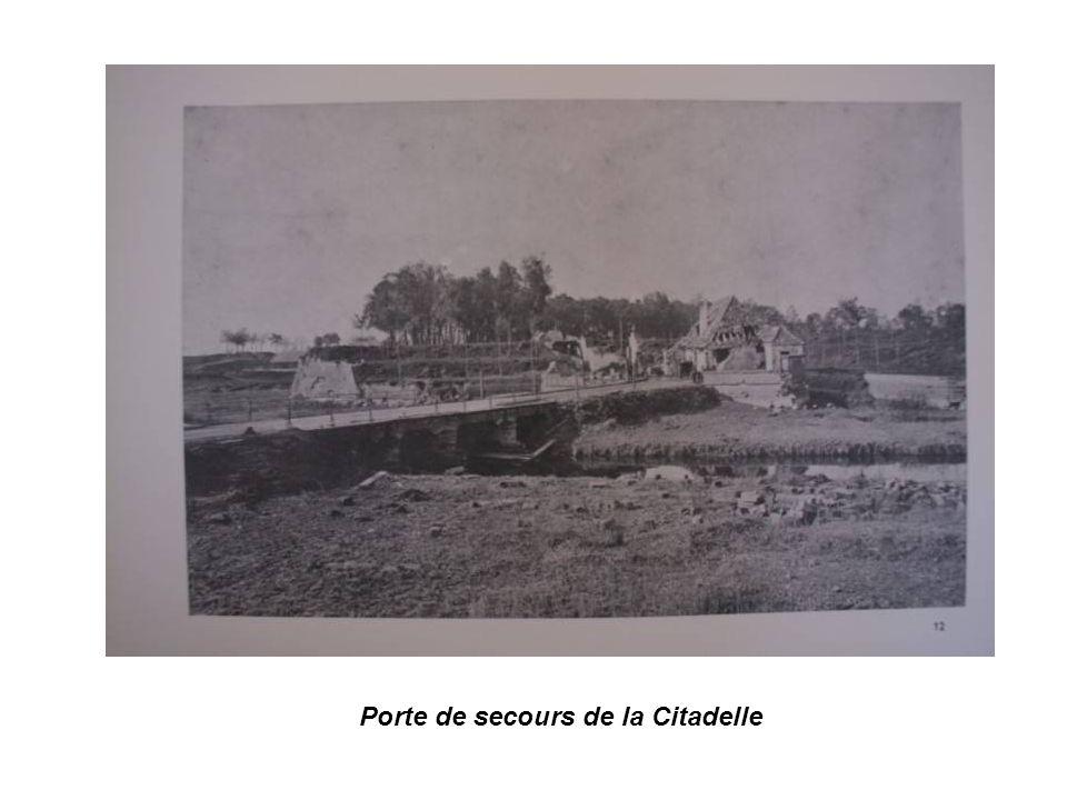 Porte de secours de la Citadelle