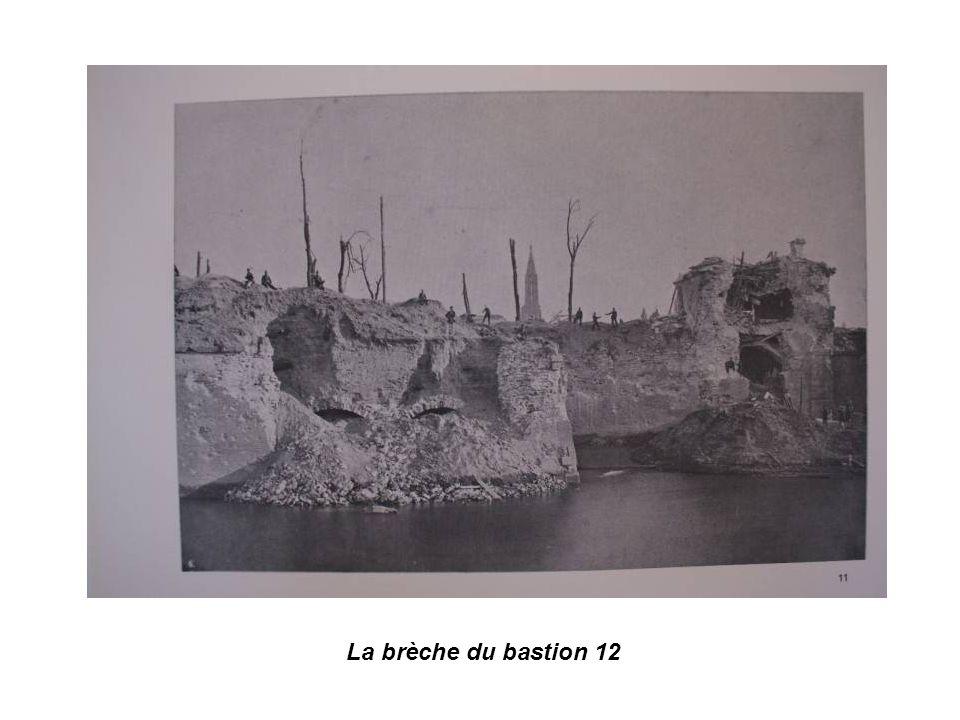 La brèche du bastion 12