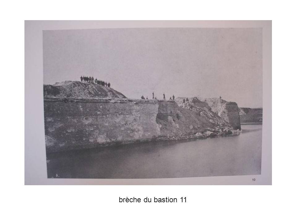 brèche du bastion 11