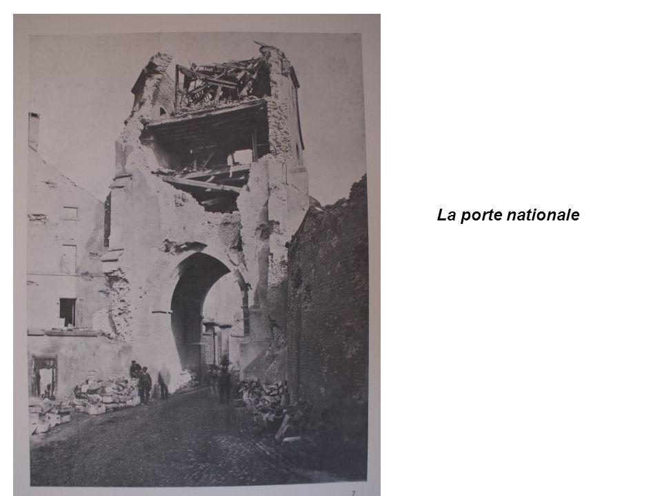 La porte nationale