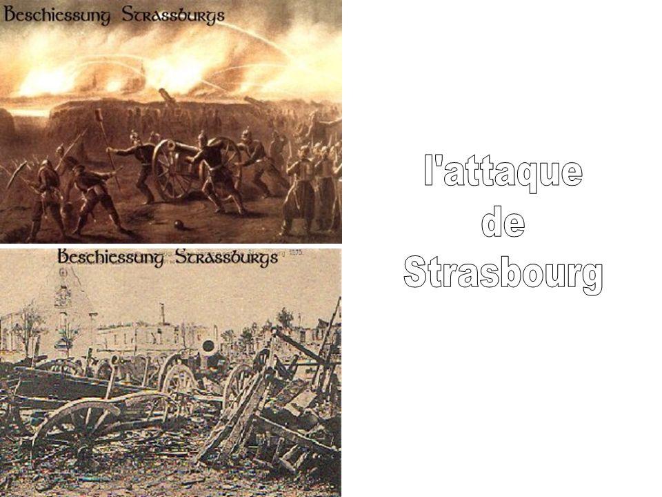 l attaque de Strasbourg