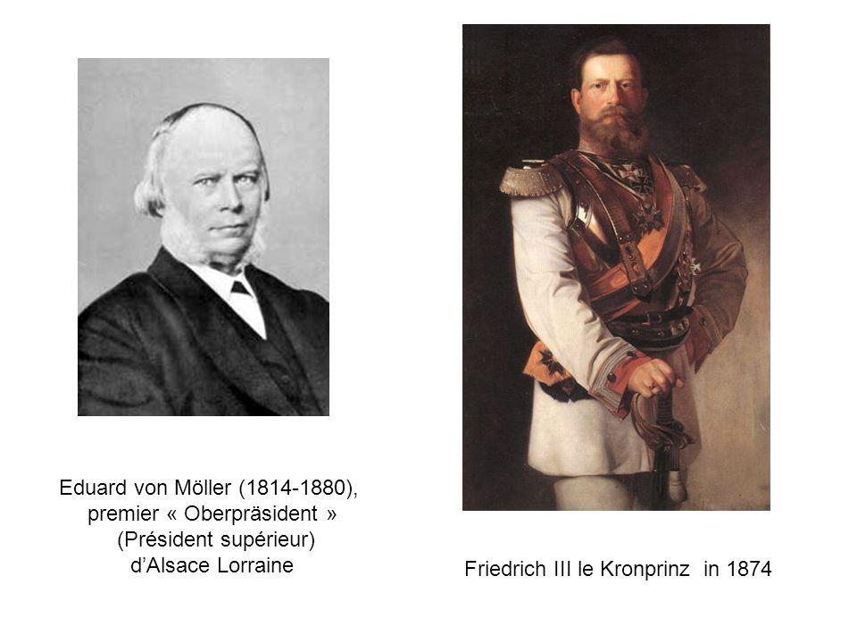 premier « Oberpräsident » (Président supérieur) d'Alsace Lorraine