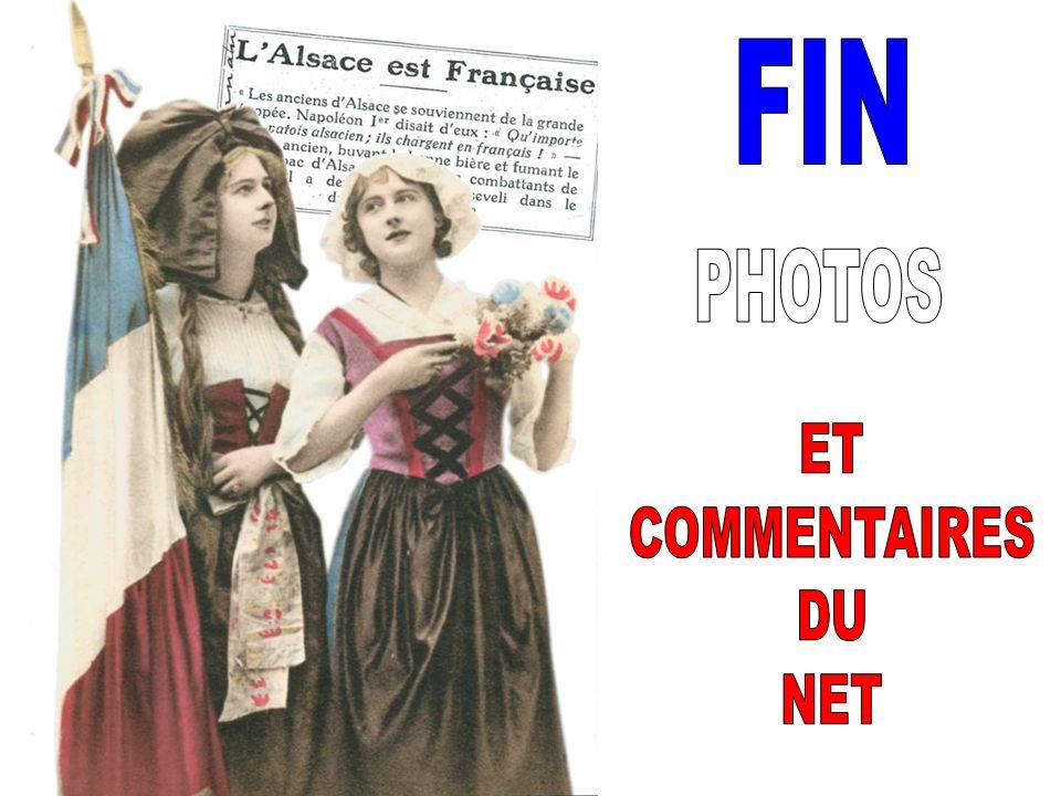 FIN PHOTOS ET COMMENTAIRES DU NET