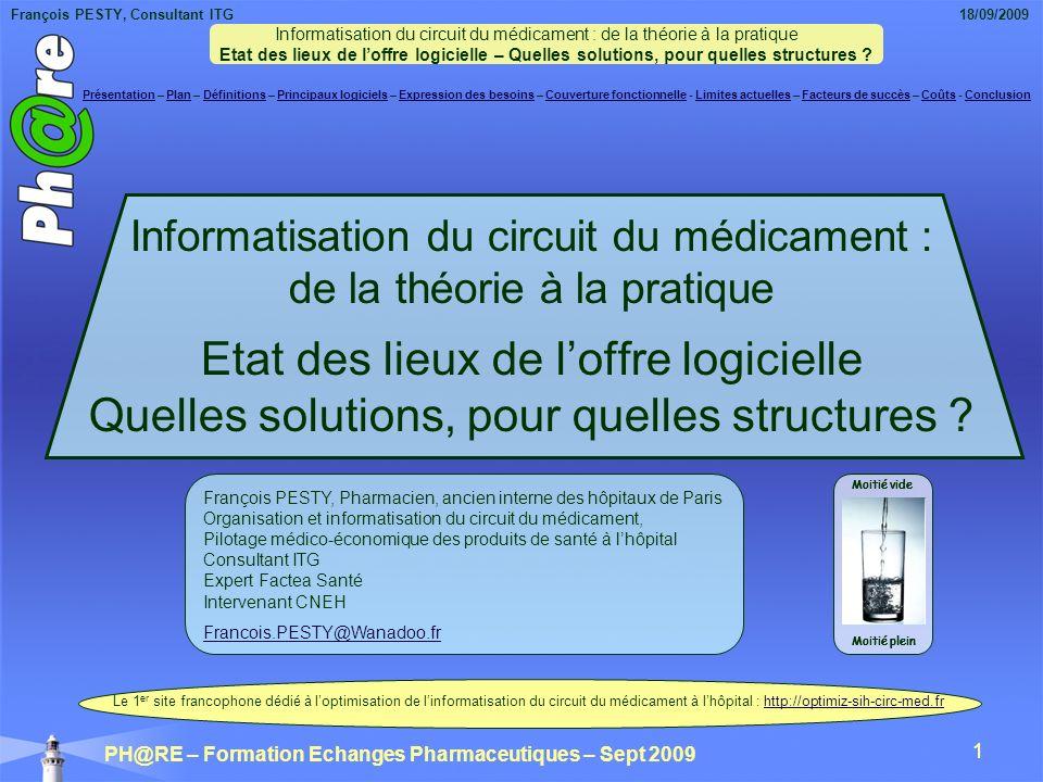Informatisation du circuit du médicament : de la théorie à la pratique