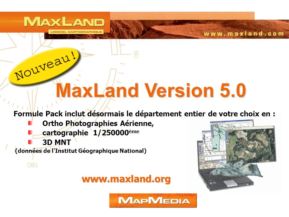 MaxLand Version 5.0 www.maxland.org