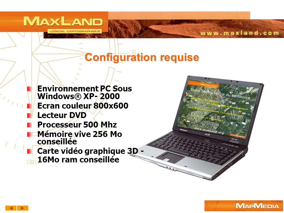 Configuration requise