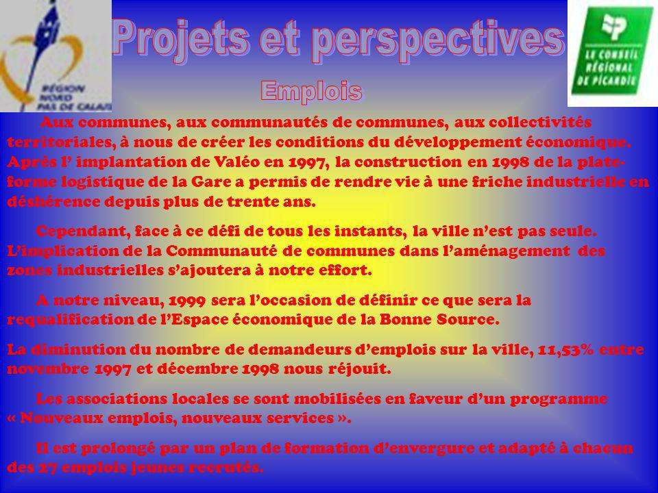 Projets et perspectives