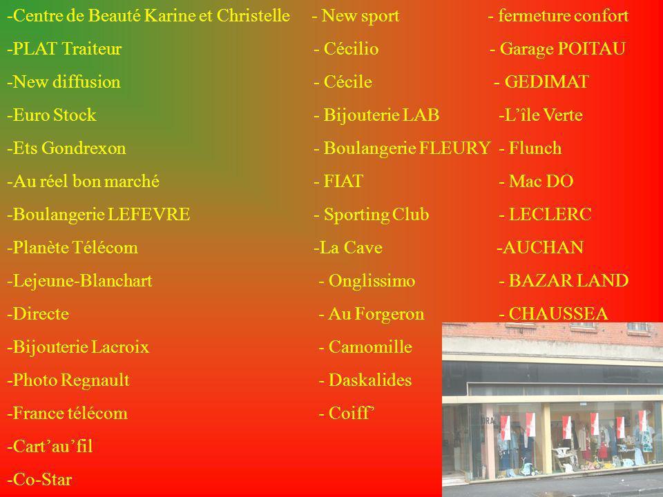 -Centre de Beauté Karine et Christelle - New sport - fermeture confort