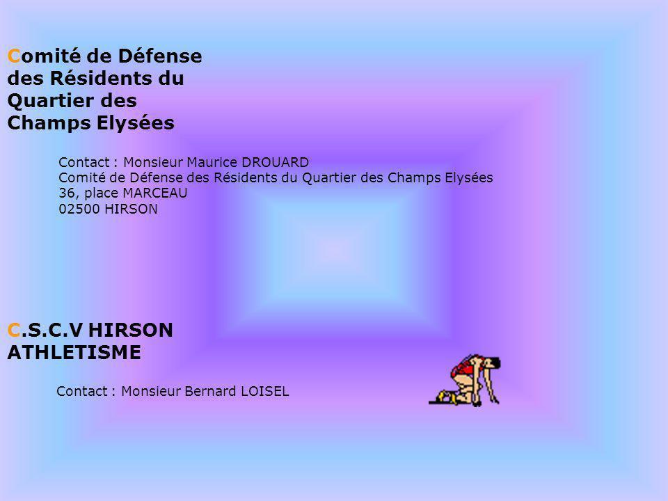 Comité de Défense des Résidents du Quartier des Champs Elysées