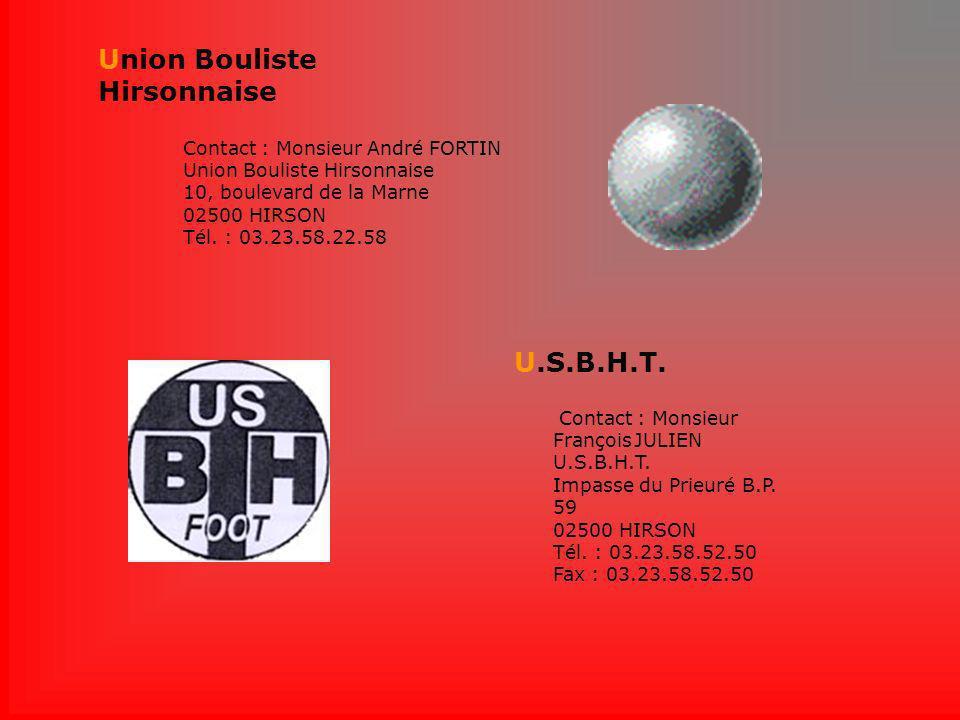 Union Bouliste Hirsonnaise