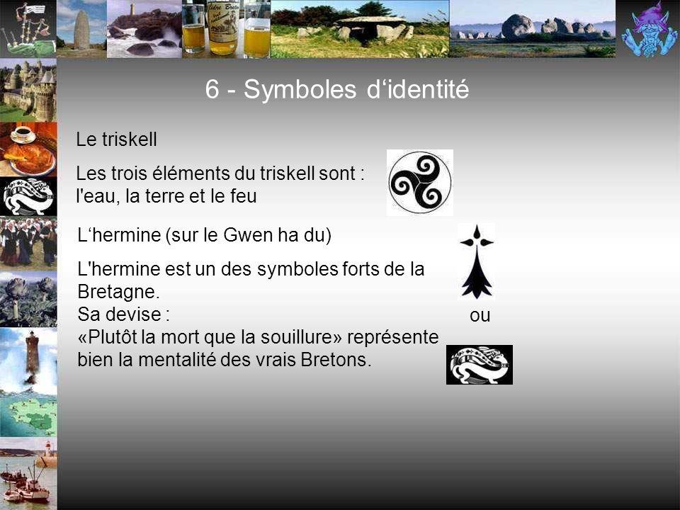 6 - Symboles d'identité Le triskell
