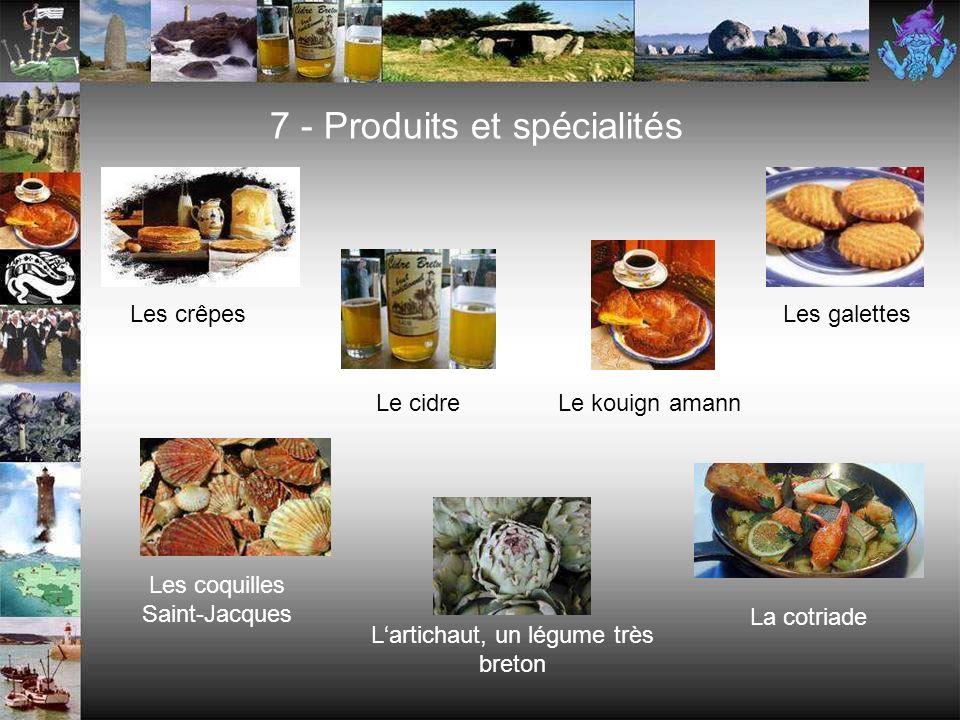 7 - Produits et spécialités
