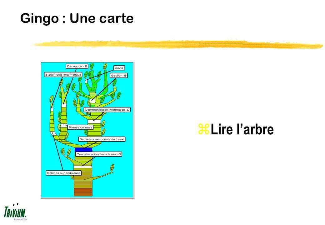 Gingo : Une carte Lire l'arbre