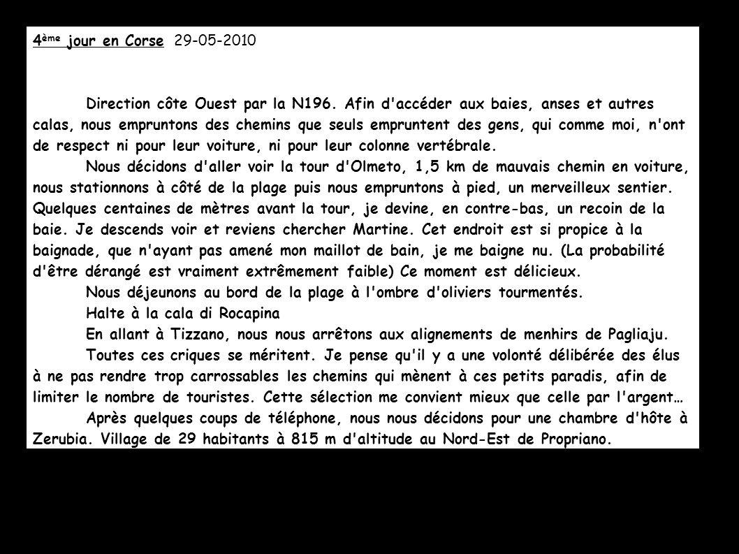 4ème jour en Corse 29-05-2010