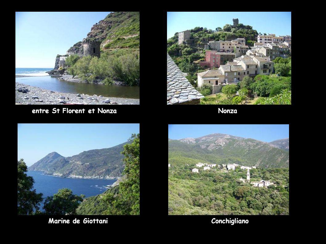 entre St Florent et Nonza