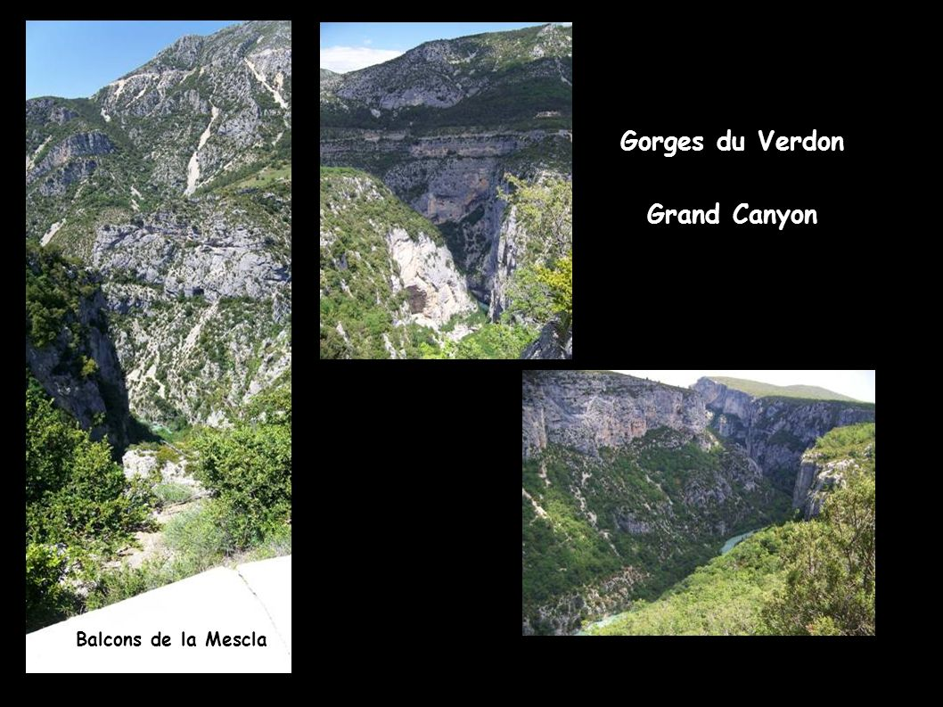 Gorges du Verdon Grand Canyon