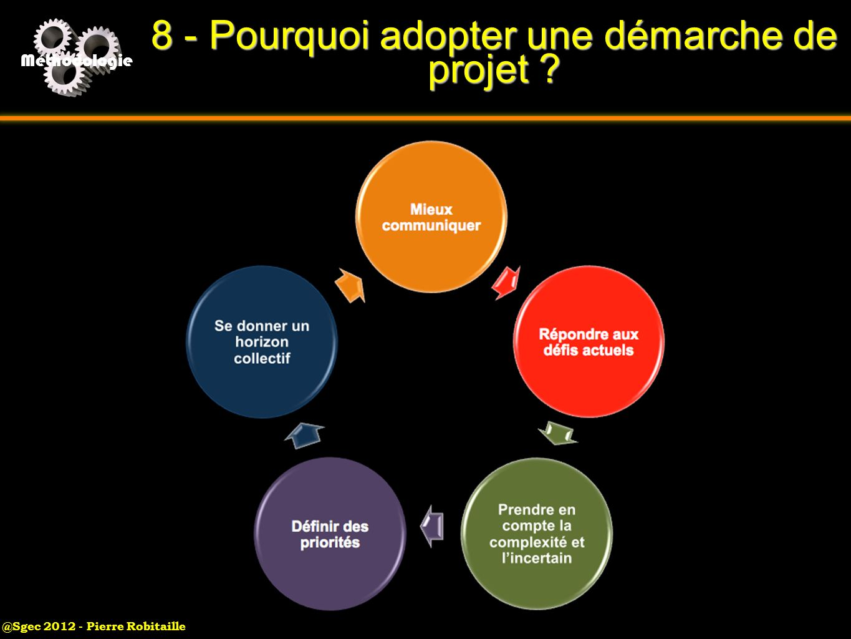 8 - Pourquoi adopter une démarche de projet