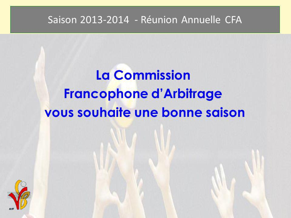 Francophone d'Arbitrage vous souhaite une bonne saison