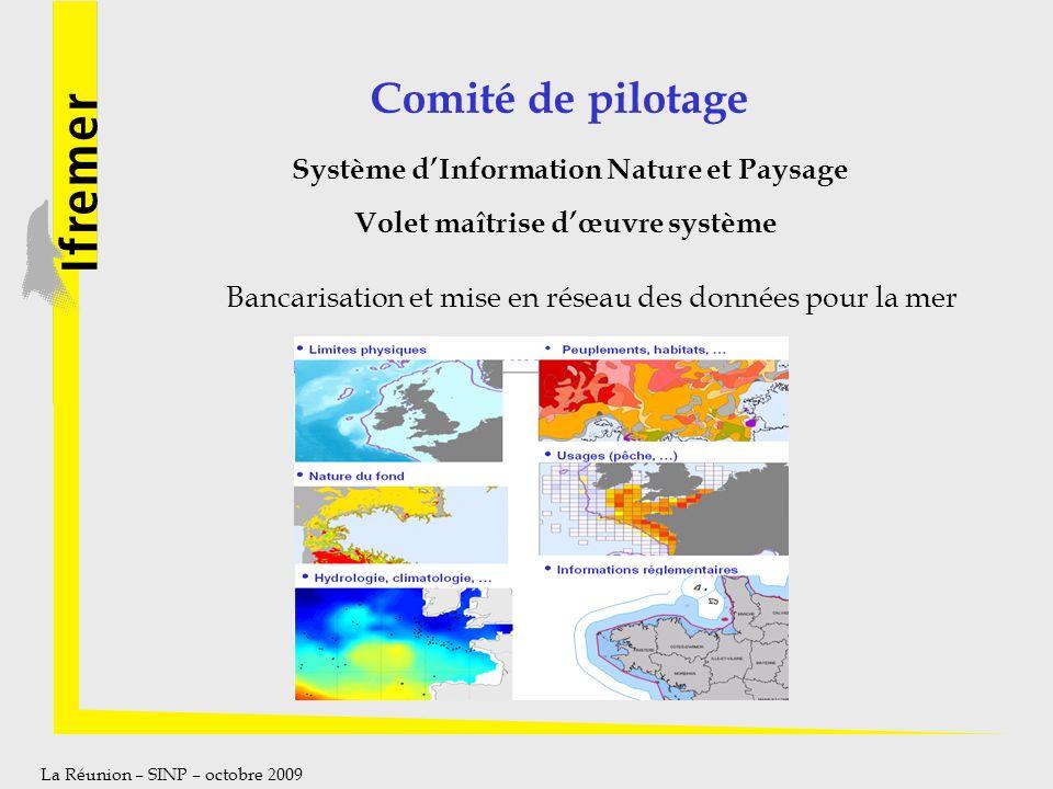 Système d'Information Nature et Paysage Volet maîtrise d'œuvre système