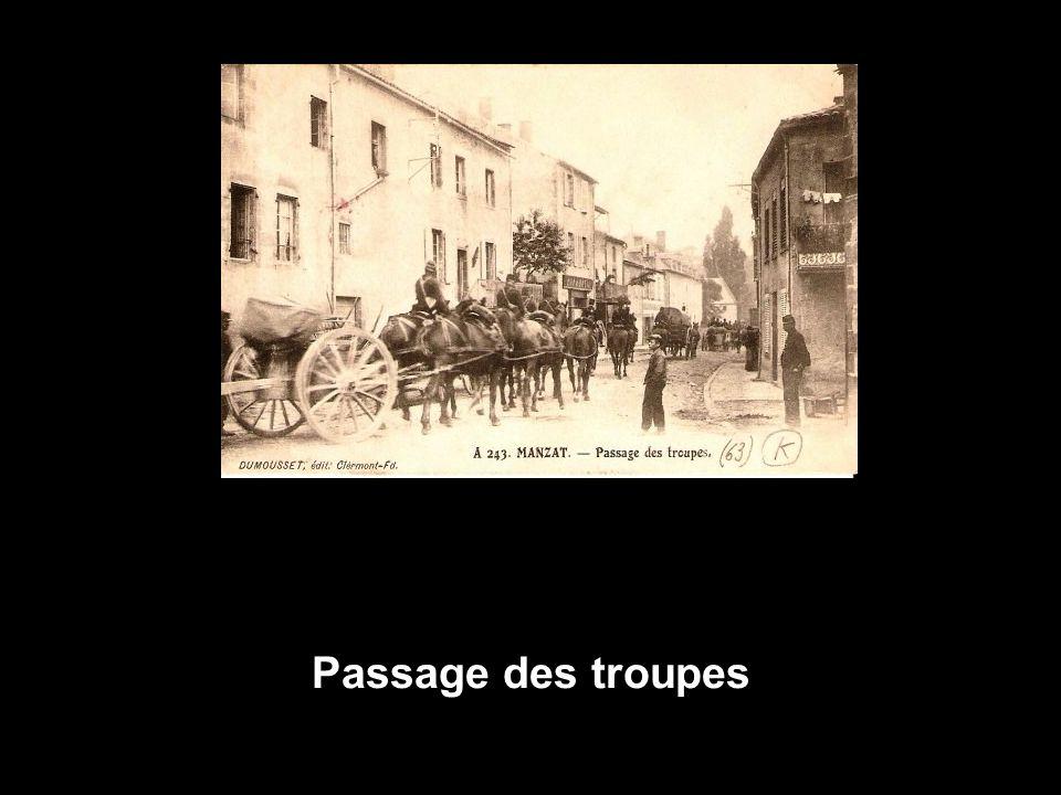 Passage des troupes