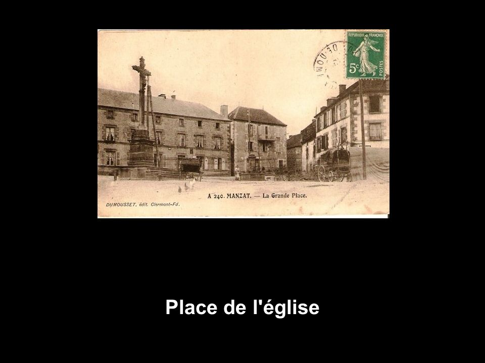 Place de l église