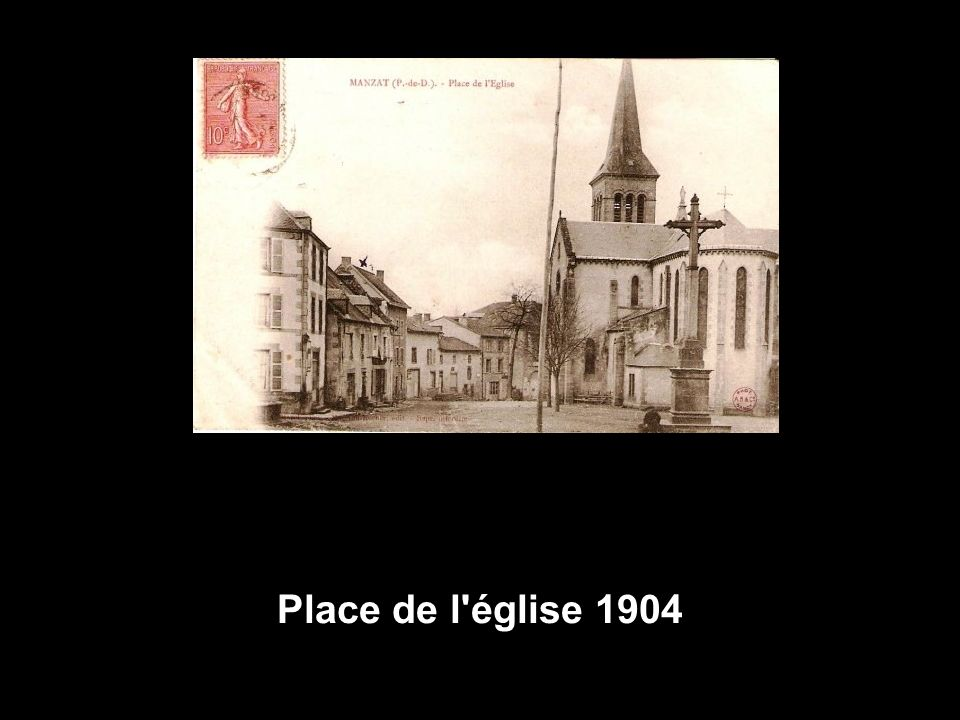 Place de l église 1904