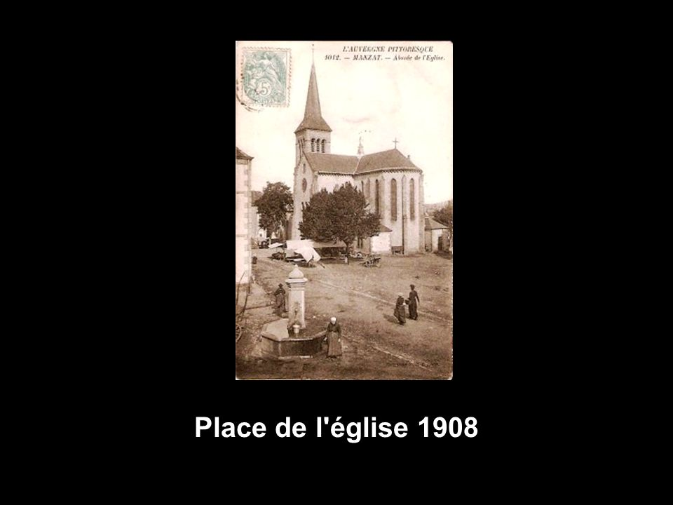 Place de l église 1908