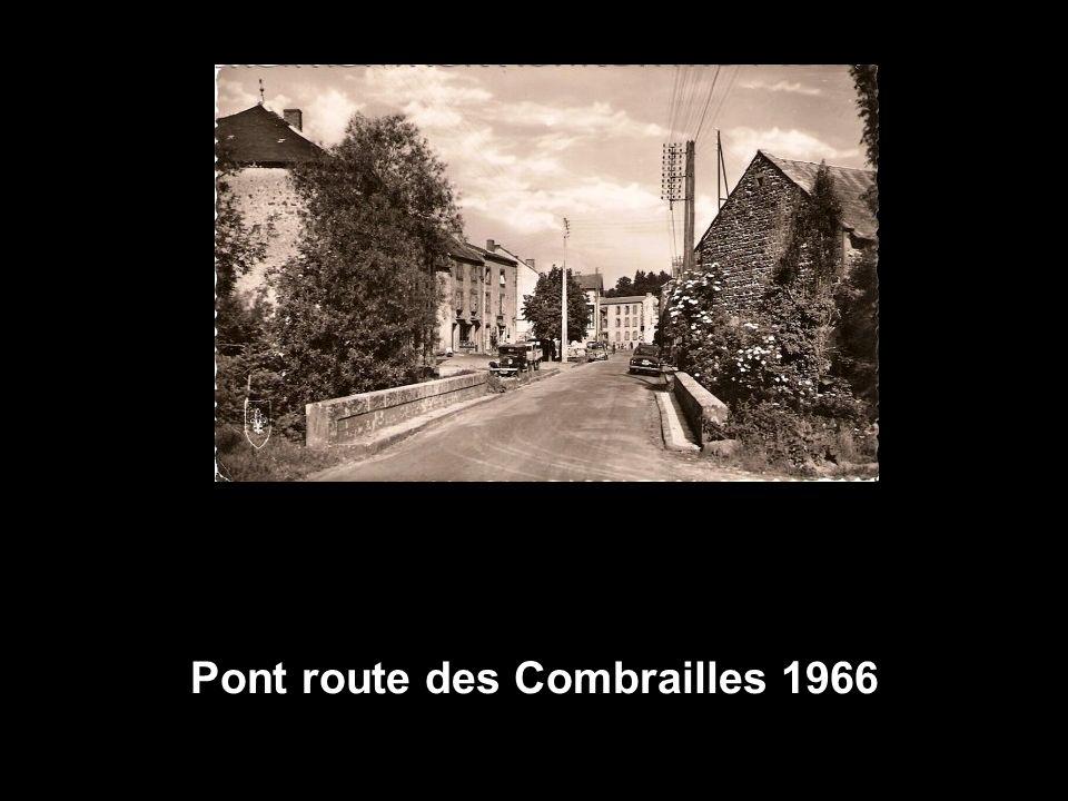 Pont route des Combrailles 1966
